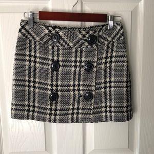 Express plaid skirt, size 2